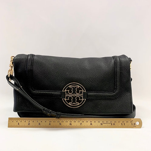 Black Leather Tory Burch