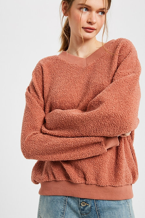 Cozy Ginger Pullover