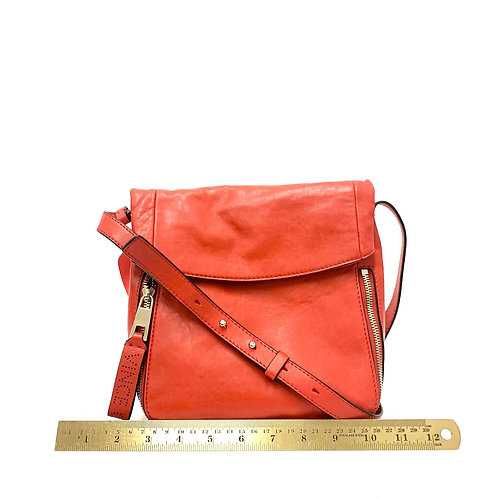Red Leather Vince Camuto