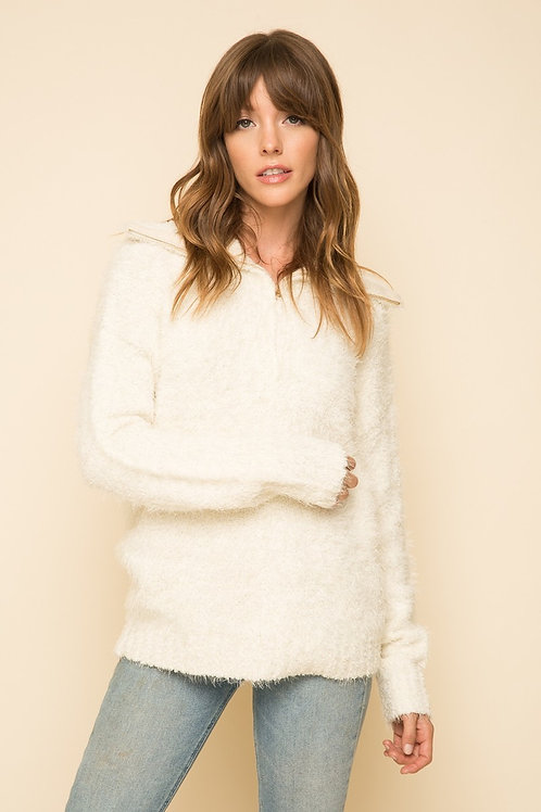 Cream Sweater Pullover