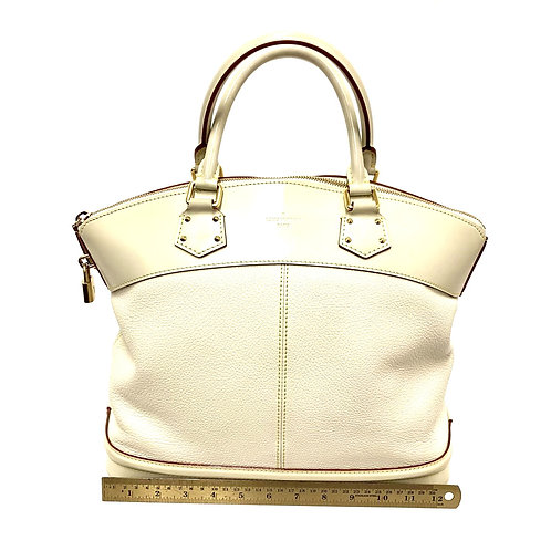 White Leather Louis Vuitton