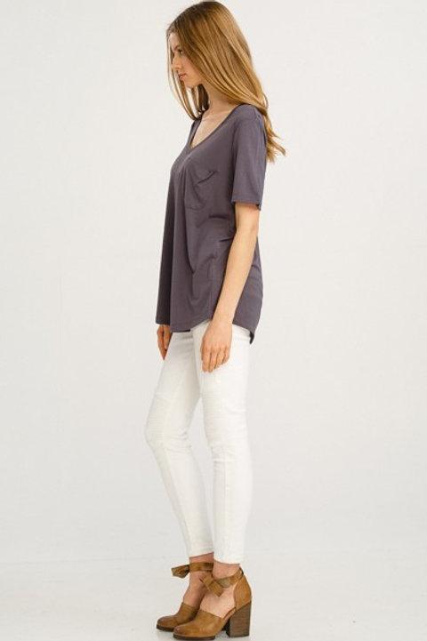 Charcoal Basic T-Shirt