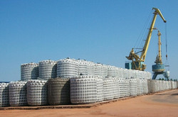 Port storage of Flexible Bulk Containers