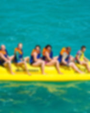 Al Marjan Island Ras Al Kaimah City Stay Beach Hotel Apartments Beach Activities Banana Ride