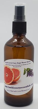 Grapefruit & Clary Sage Room Spray