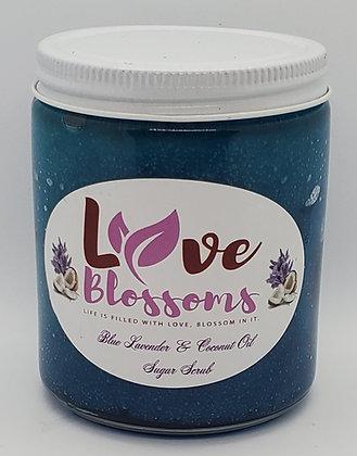 Blue Lavender & Coconut Scrub