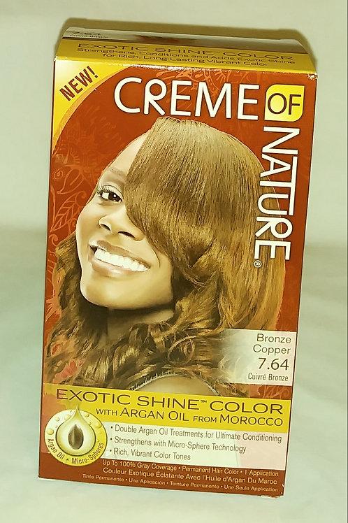 Color #7.64 Bronze Copper Exotic Shine