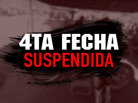 Suspension de 4ta fecha Junior y Metropolitano