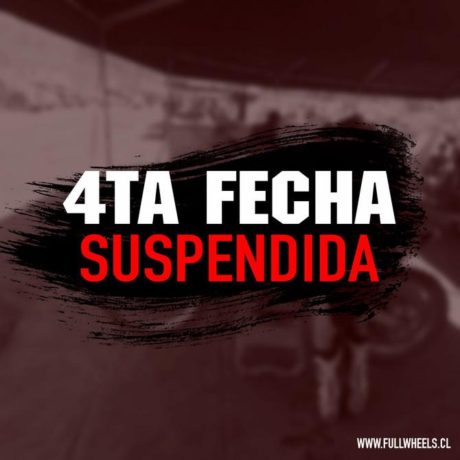 Suspension de 4ta fecha Junior y Metropolitano