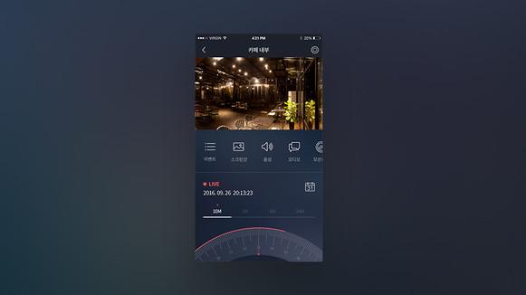 EveryXcam UI 디자인
