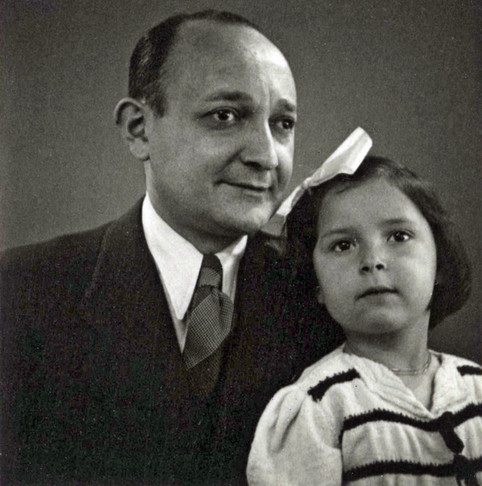 Anita with her father Stanis Zousman
