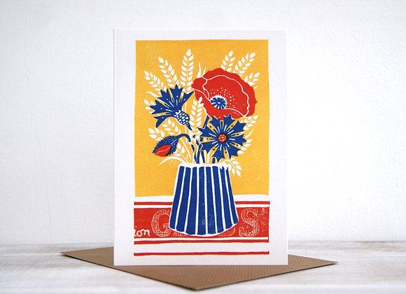 Wonderland collection - Cornflowers