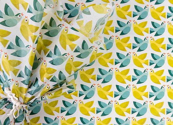 Tissue paper 10 pack - Love Birds