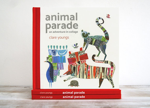 Animal Parade, An Adventure in Collage