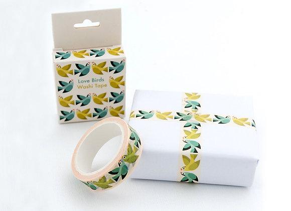 Washi Tape - Love Birds