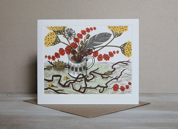 Printmakers Card - Twisted Stem