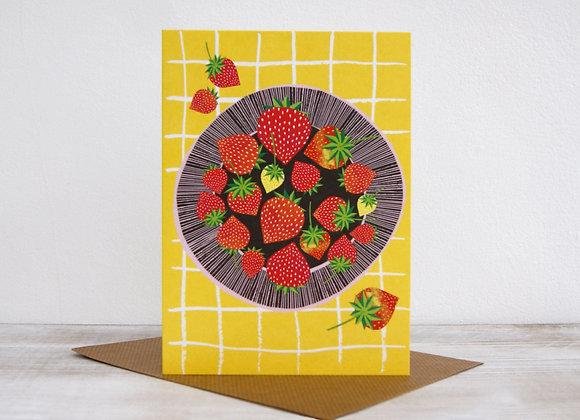 Wonderland collection - Strawberry Plate
