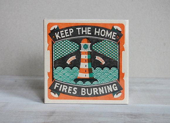 Luxury Matchbox - Home Fires