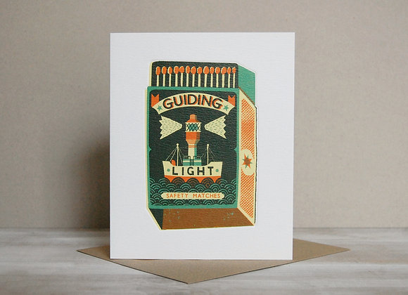 Printmakers Card - Guiding Light