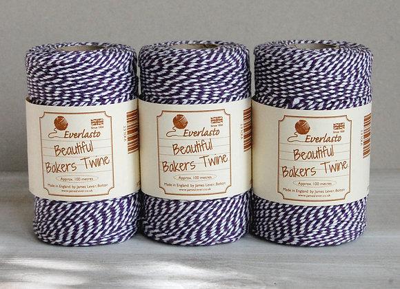 Bakers Twine 100mt - Violet