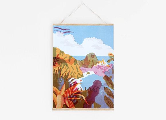 Island A3 Digital Print