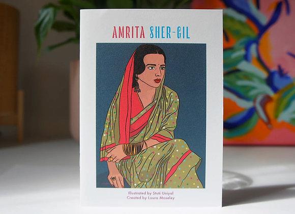 Made by Women Zines - Amrita Sher-Gil
