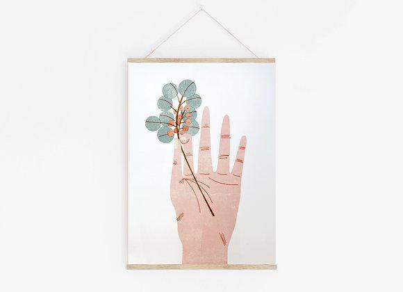 Eucalyptus A3 Digital Print