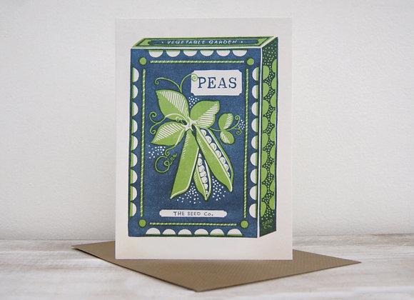 Wonderland collection - Peas