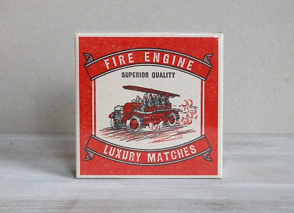 Luxury Matchbox - Fire Engine