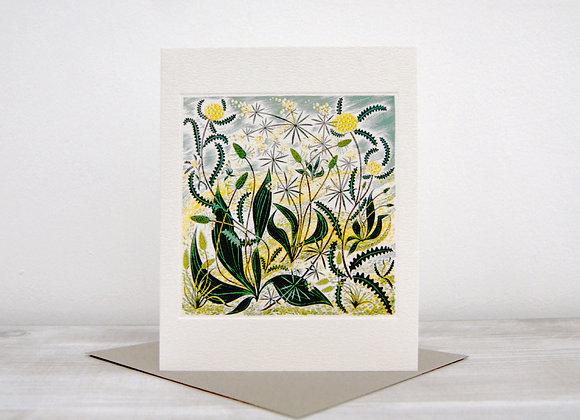 Printmakers Card - Sollas Sands