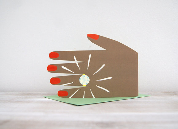 Diamond Ring Card