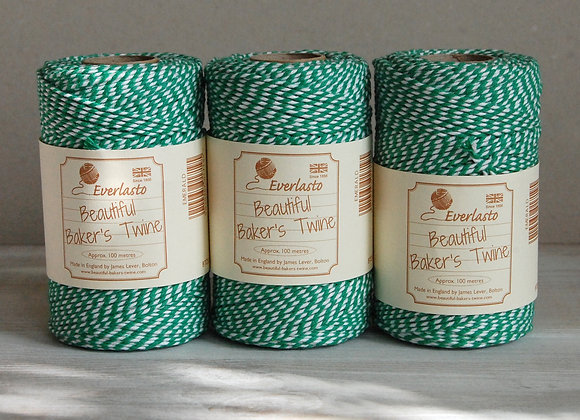 Bakers Twine 100mt - Emerald