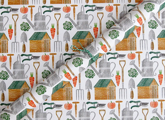 Wrapping paper x 4 - Allotment