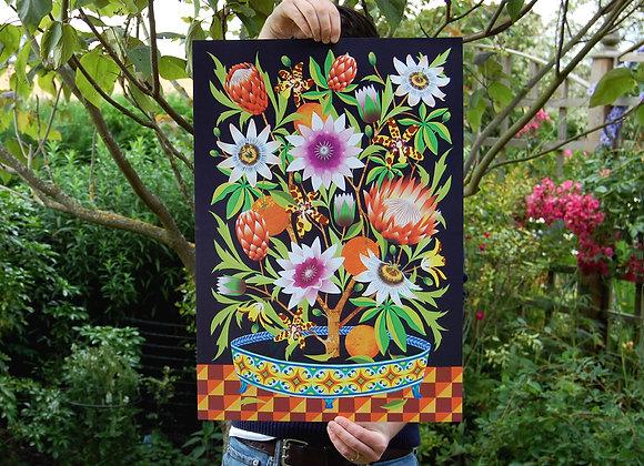 In Bloom A2 Digital Poster Print