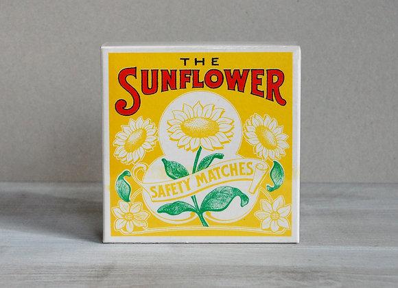 Luxury Matchbox - Sunflower