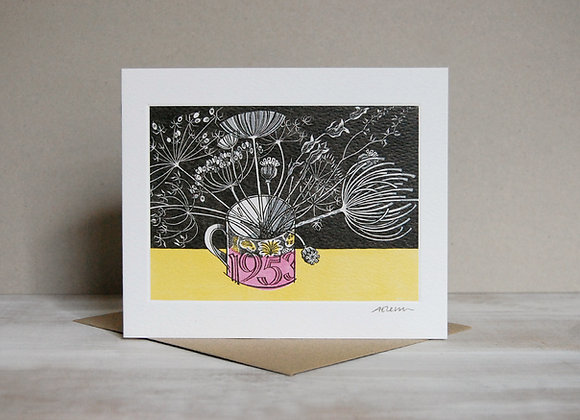 Printmakers Card - Coronation Mug