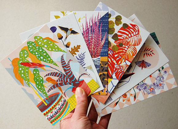 Botanicals  Postcard Pack
