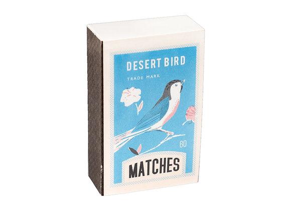 Matchbox Notepad - Desert Bird