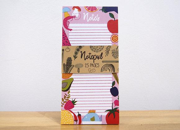 Printed Notepad - Groceries