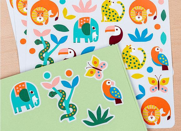 Sticker Sheets - Wild Wonders