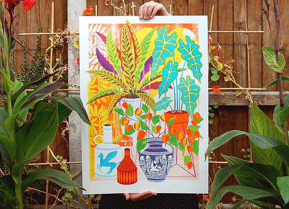 Vessels Screen Print