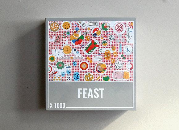 Feast 1000-Piece Jigsaw Puzzle