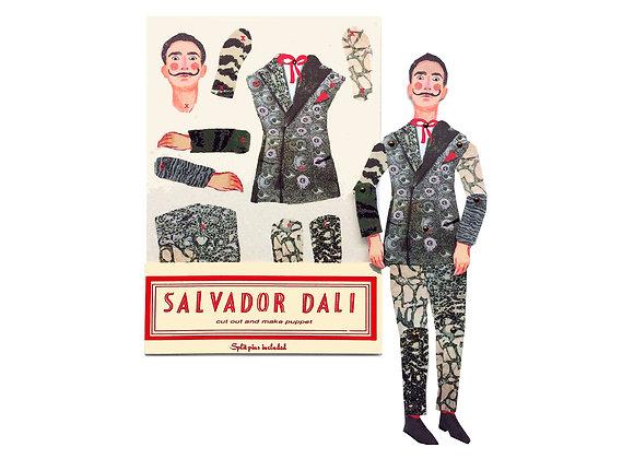 Cut & Make Artist Puppet - Salvador Dali