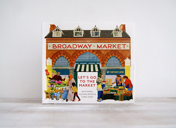 Broadway Market, a folding book, game and card set