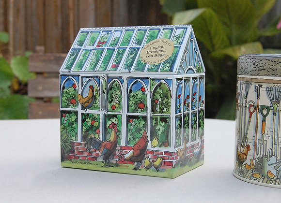 Greenhouse Tin - With English Breakfast Tea