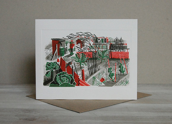 Printmakers Card - Shortest Day
