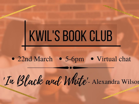 BOOK REVIEW: In Black and White, Alexandra Wilson