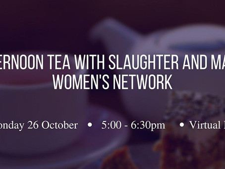 Afternoon Tea With Slaughter and May