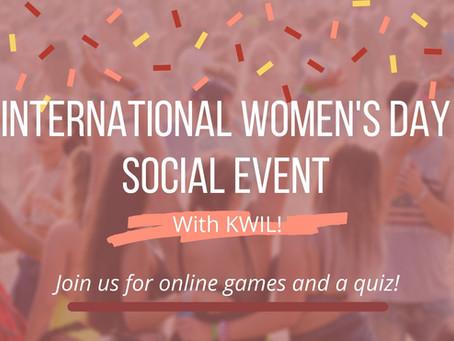 International Women's Day Social