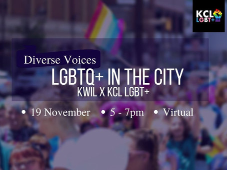 Diverse Voices: LGBTQ+ In The City